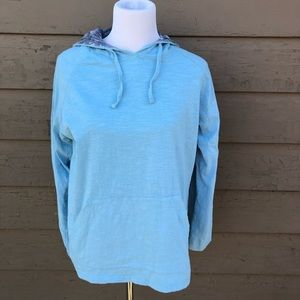 Free Planet mint green hooded sweatshirt